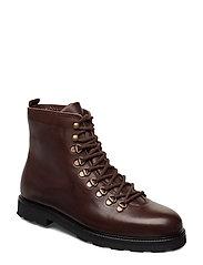 TediQ Hiker Oxford Combat Boot - CHESTNUT