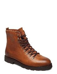 TediQ Hiker Oxford Combat Boot - TAN