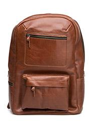 Track Backpack - COGNAC