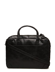 Explorer laptop bag double - BLACK