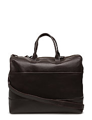 NEW COURIER STAY OVER BAG CAVIAR - BROWN