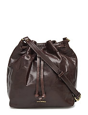 BUCKET HANDBAG - BROWN