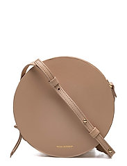 GALAX ROUND EVENING BAG - NUDE