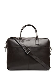 Metropolis Laptop Bag - BROWN