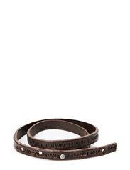 Philosophy Bracelet - DARK BROWN