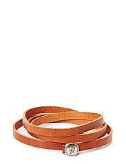 Spiral Bracelet - COGNAC