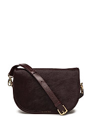 Raf Curve Handbag Pony - WINE