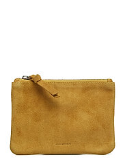 Town Pouch Suede - YELLOW
