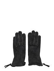 Ground Suede Touch Gloves - BLACK