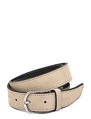 Allure Suede Belt - SAND