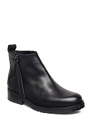 Ave Zip Boot - BLACK