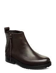Ave Zip Boot - BROWN