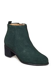 Town Zip Boot Suede - GREEN