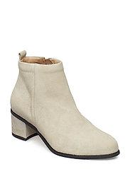 Town Zip Boot Suede - SAND