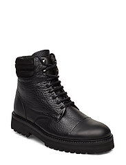 Ave Hiker Combat Boot - BLACK