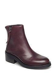 District Zip Boot - BORDEAUX