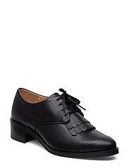 Elite Fringe Shoe - BLACK