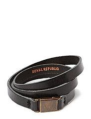 Clip bracelet/cuff - BLACK