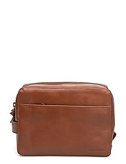Gemin Toilet Bag Mini - COGNAC