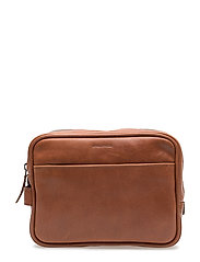 Explorer Toilet Bag Mini - COGNAC