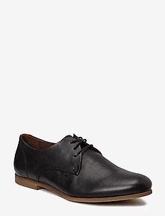 Cast derby shoe - BLACK