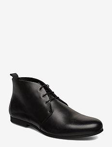 Cast derby midcut - desert boots - black