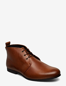 Cast derby midcut - desert boots - hazel brown