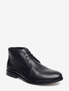 CAST CLASSIC DERBY MIDCUT - desert boots - black