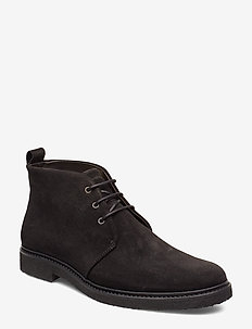 Cast Crepe Chukka Suede - desert boots - black