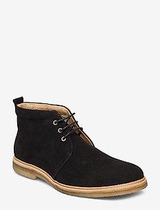 Cast Crepe Chukka Suede - desert boots - black
