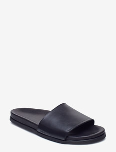 Route Slipper - pool sliders - black