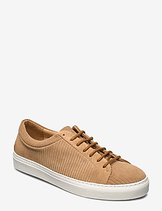 Spartacus Suede Corduroy Derby Shoe - low tops - camel