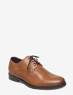 Nano Derby Shoe - laced shoes - tan