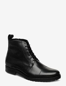Nano Lace Up Boot - med snøring - black