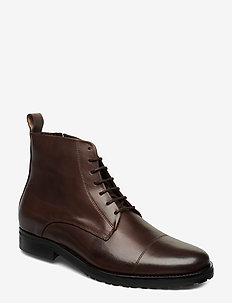 Nano Lace Up Boot - med snøring - brown