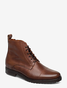 Nano Lace Up Boot - sznurowane - tan