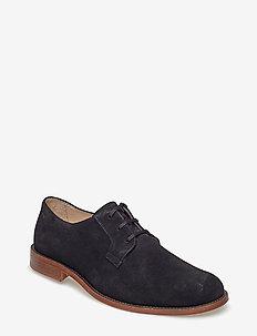 Alias Classic Derby Shoe Suede - BLACK