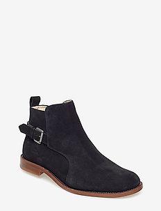 Alias Classic Low Jodhpur Suede - chelsea boots - black