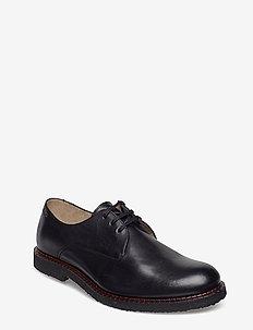 Alias Crepe Derby Shoe - BLACK