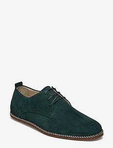 Evo Derby Shoe Suede - GREEN