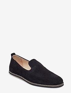 Evo Loafer Suede - BLACK