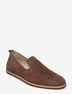 Evo Loafer Suede - mokasyny - taupe