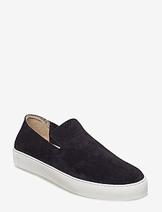 Doric Loafer Suede - chaussures slip-ons - black
