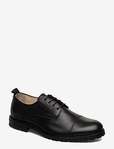 Alias City Hiker Derby Shoe - BLACK