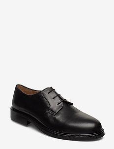 Bond Derby Shoe - BLACK