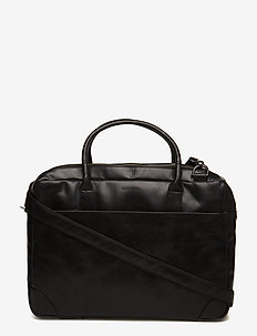 Explorer laptop bag double - laptoptassen - black