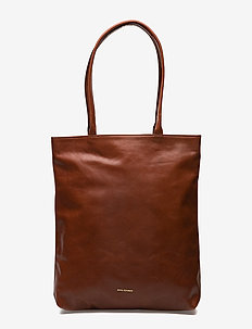ESSENTIAL TOTE - casual shoppers - cognac