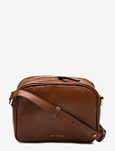 ESSENTIAL EVE BAG - schoudertassen - cognac
