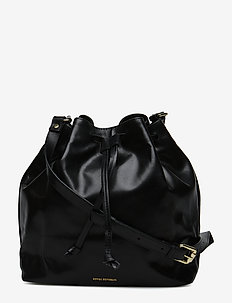 BUCKET HANDBAG - bucket bags - black