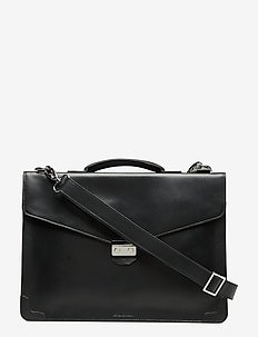 New Conductor Laptop Bag - BLACK